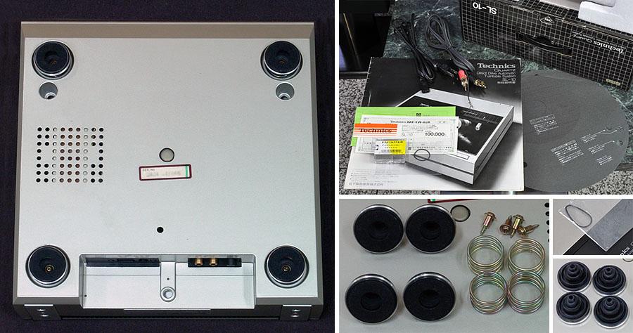 松下 Technics SL-10 黑胶唱机
