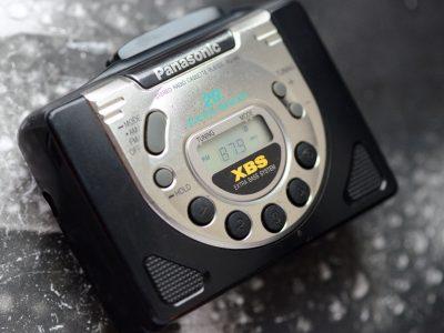 松下 Panasonic XBS RQ-V85 磁带随身听