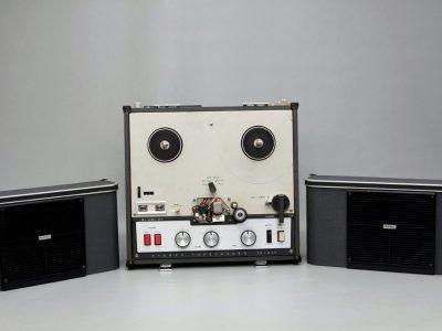 索尼 SONY TC-200 电子管开盘机