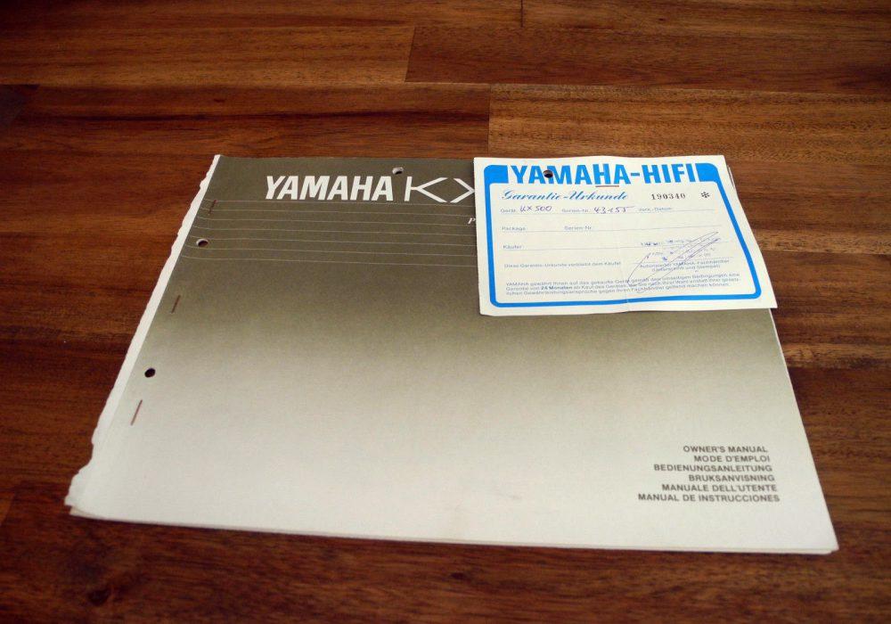 雅马哈 YAMAHA KX-500 卡座