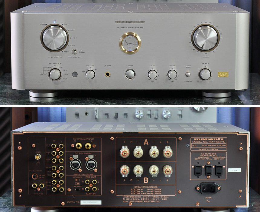 马兰士 Marantz PM-14SA Ver.2 功率放大器