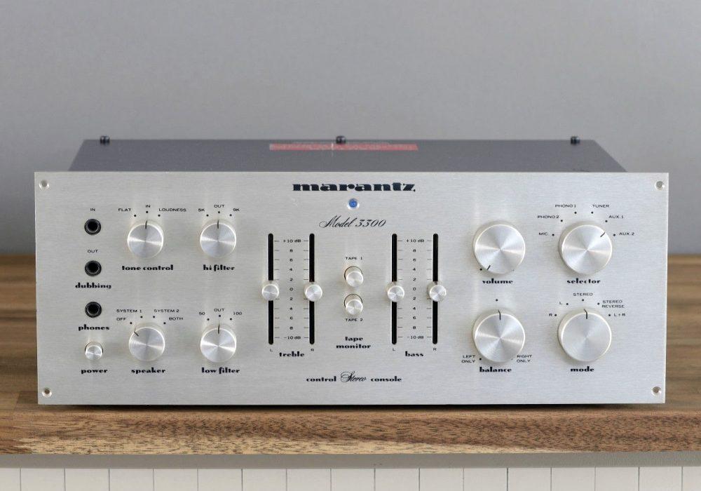 马兰士 Marantz Model 3300 功率放大器