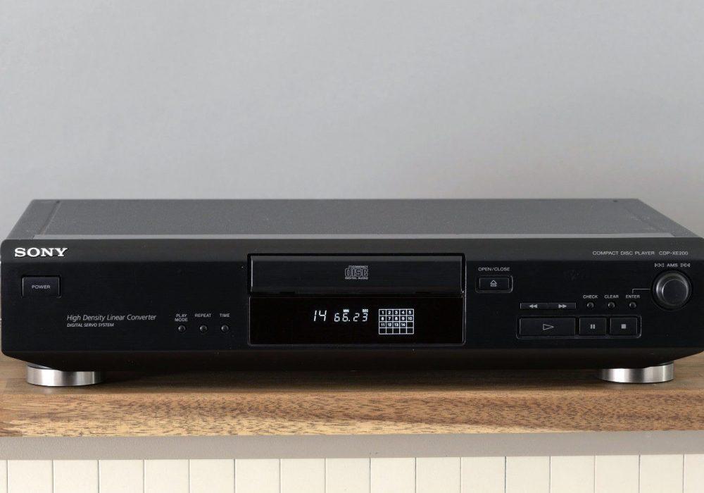 索尼 SONY CDP-XE200 CD播放机
