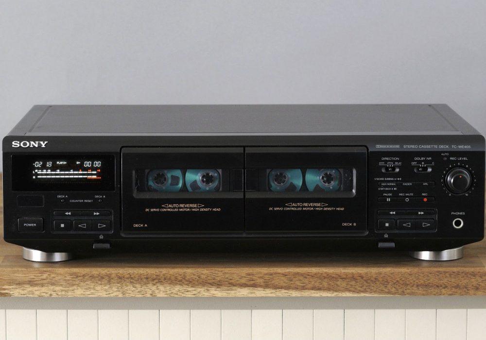 索尼 SONY TC-WE405 双卡座
