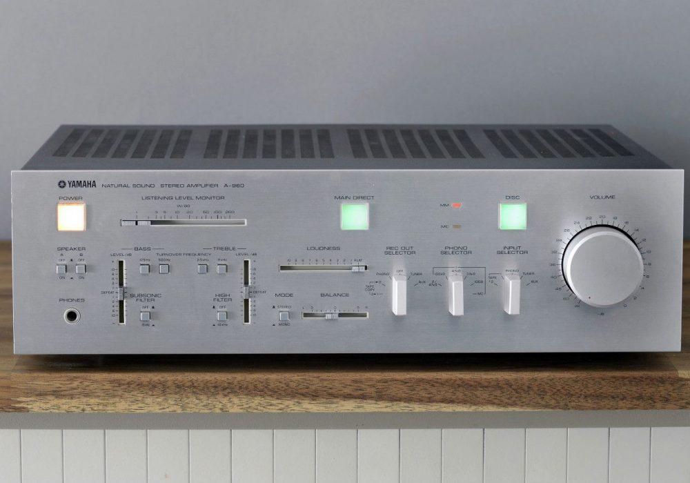 雅马哈 YAMAHA A-960 功率放大器