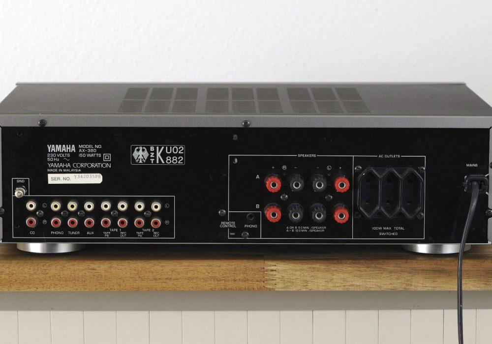 雅马哈 YAMAHA AX-380 功率放大器