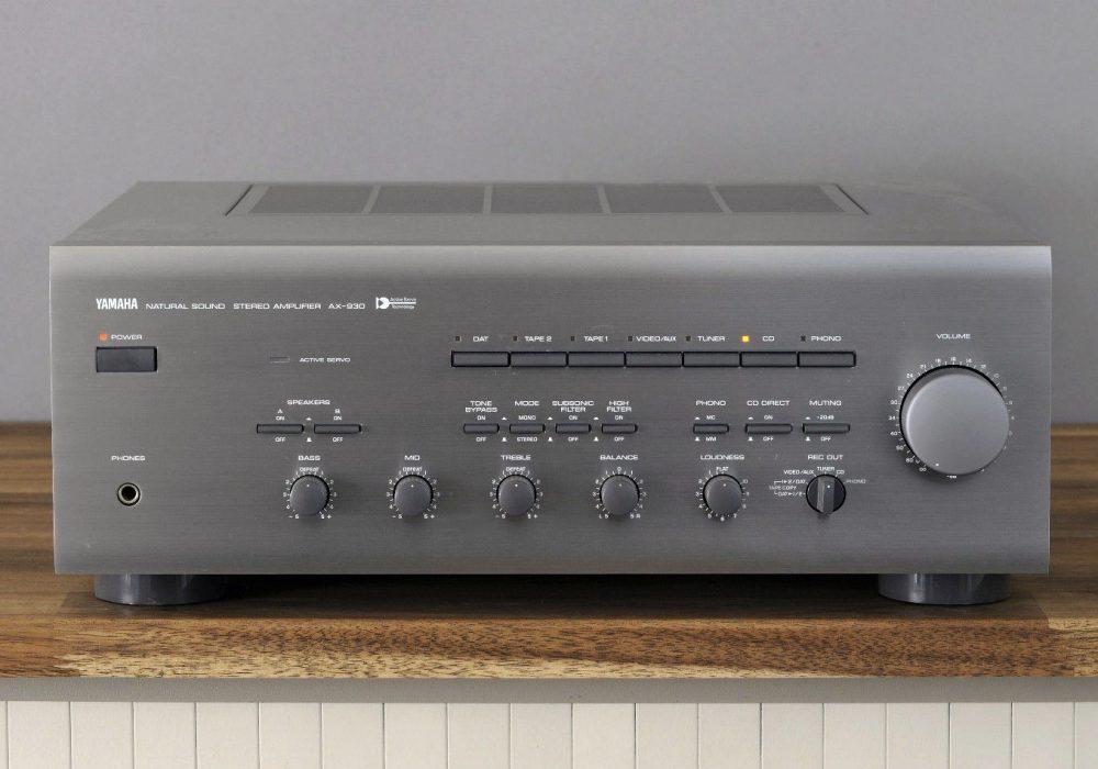雅马哈 YAMAHA AX-930 功率放大器