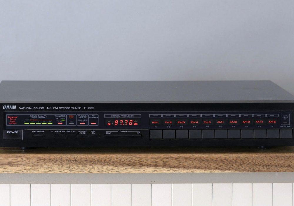 雅马哈 YAMAHA T-1000 High-End 数调立体声收音头