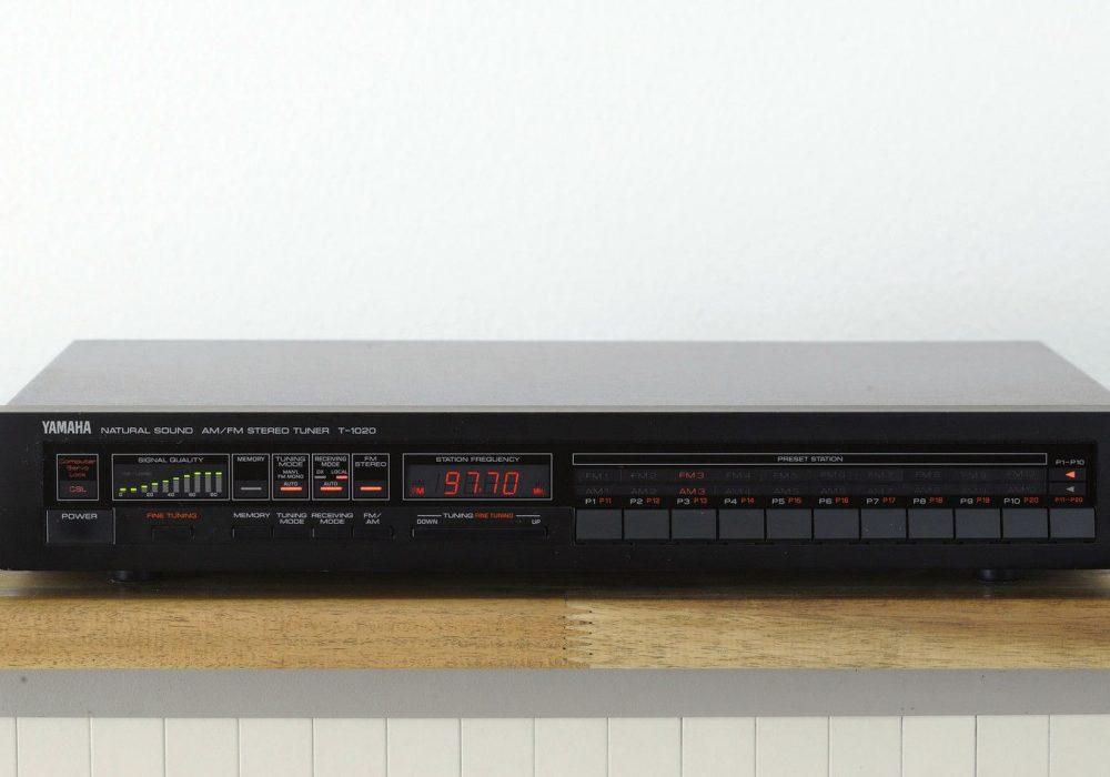 雅马哈 YAMAHA T-1020 High-End 数调立体声收音头