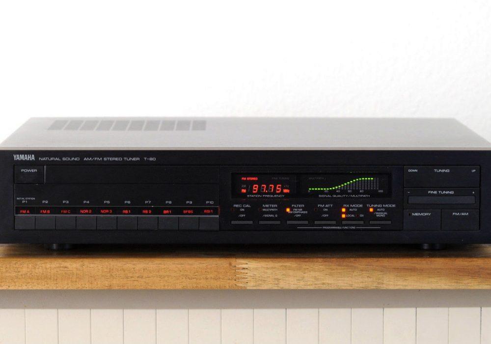 雅马哈 YAMAHA T-80 High-End 数调立体声收音头