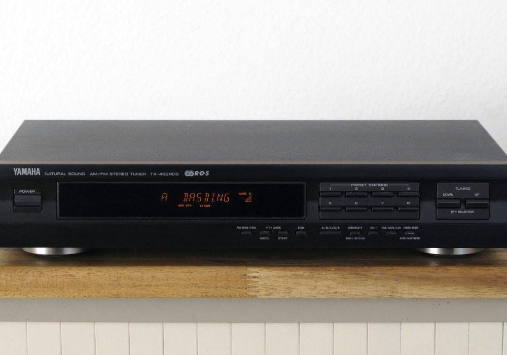 雅马哈 YAMAHA TX-492 RDS 数调立体声收音头