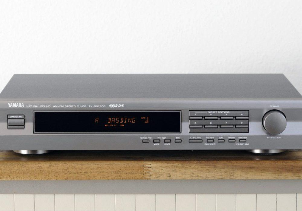 雅马哈 YAMAHA TX-592 RDS 数调立体声收音头