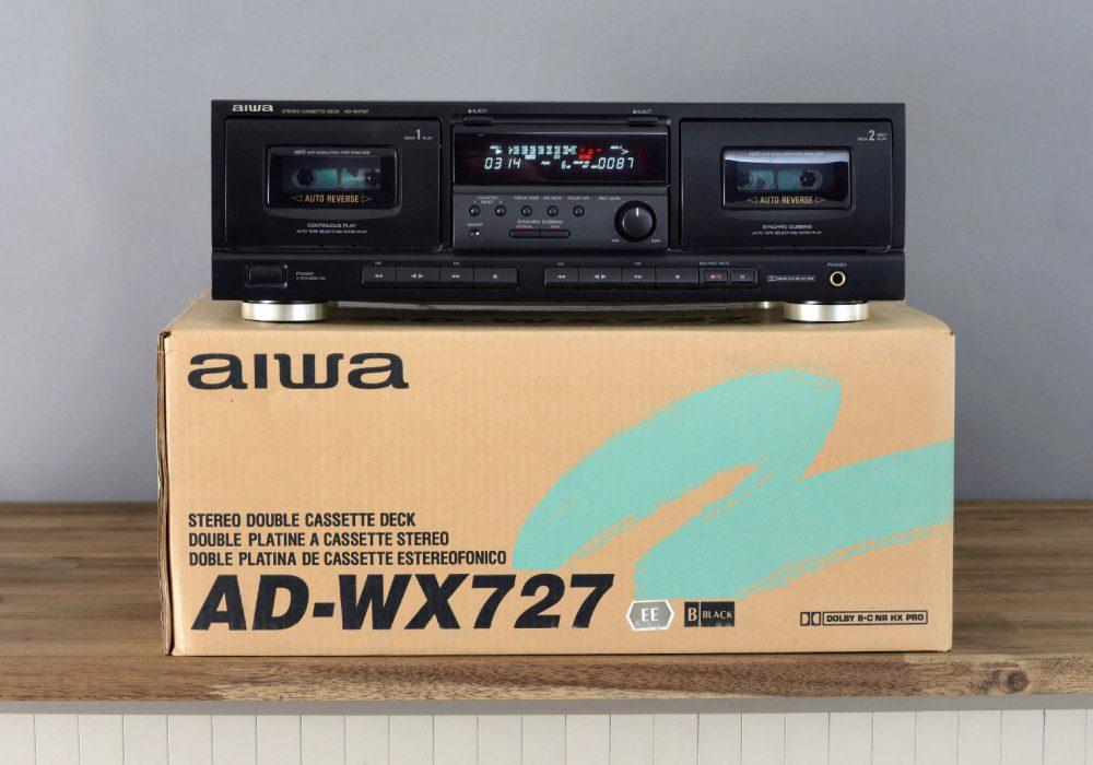 爱华 aiwa AD-WX727 双卡座