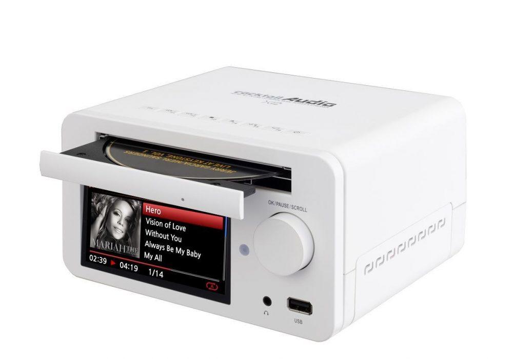 Cocktail Audio X12 硬盘/CD/网络播放一体机 桌面音响