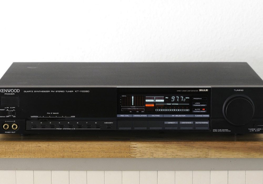 建伍 KENWOOD KT-1100SD Hi-End 立体声FM收音头