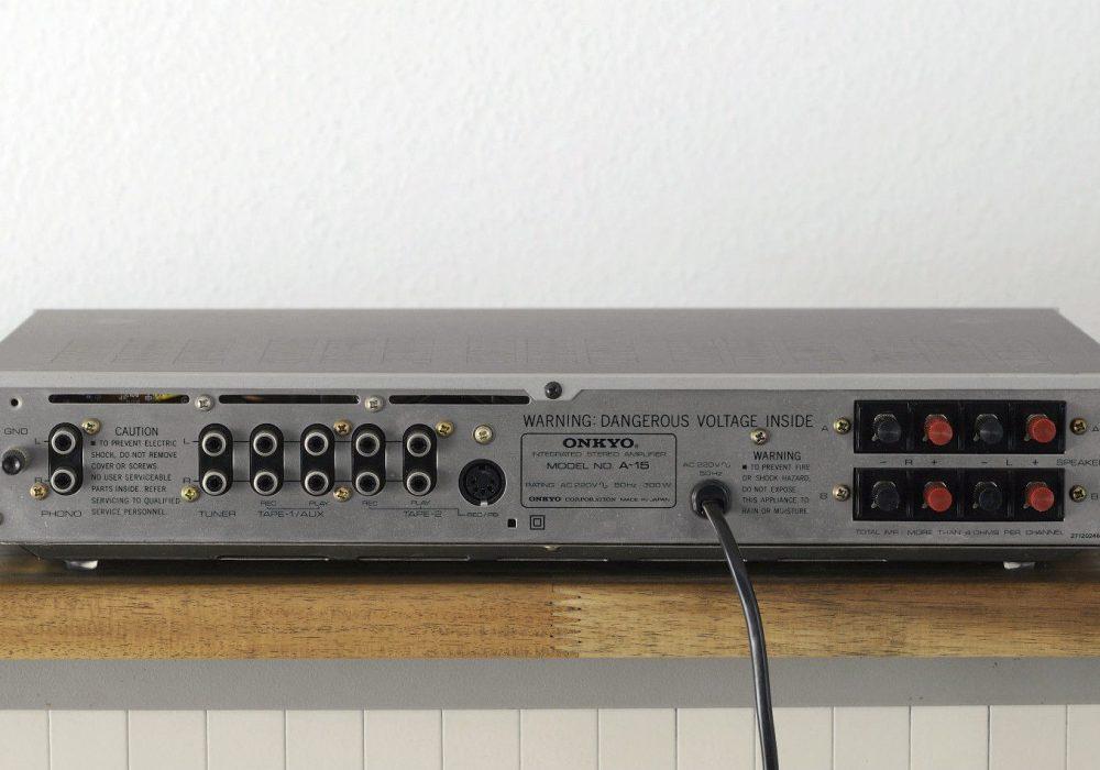安桥 Onkyo A-15 功率放大器