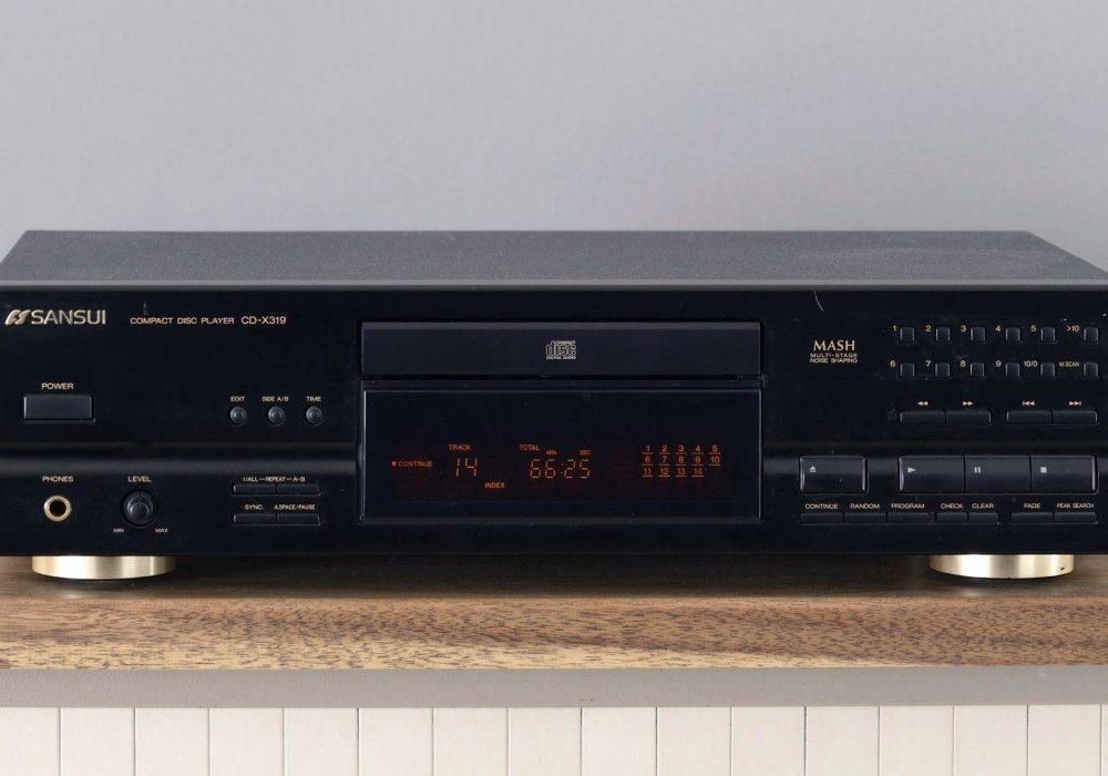 山水 SANSUI CD-X319 CD 播放机