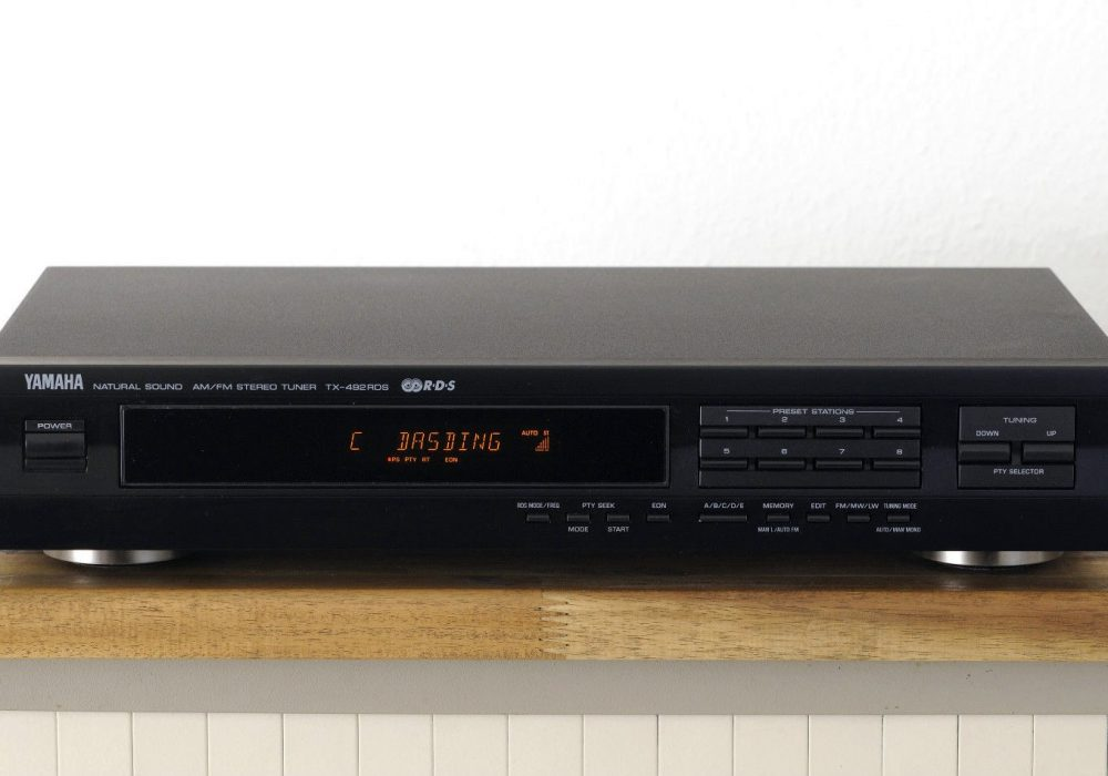 雅马哈 YAMAHA TX-492 RDS 立体声收音头