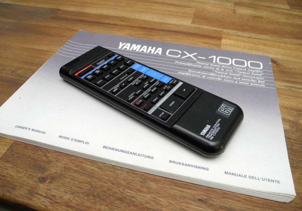 雅马哈 YAMAHA CX-1000 Hi-END 前级放大器