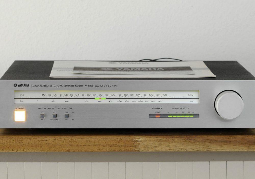 雅马哈 YAMAHA T-550 High-End 立体声收音头