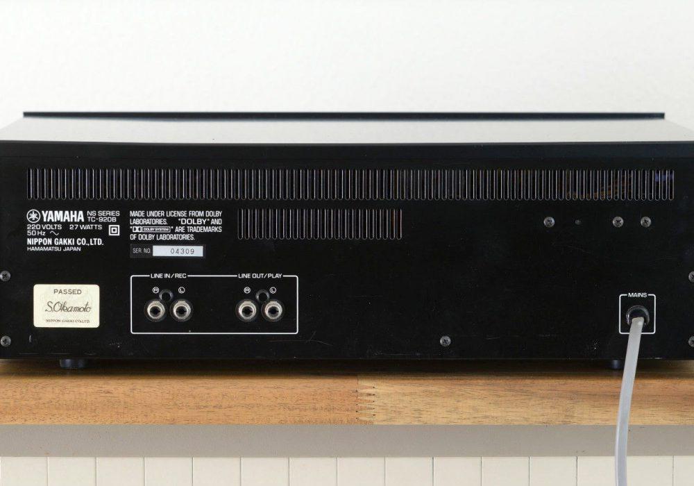 雅马哈 YAMAHA TC-920B 卡座