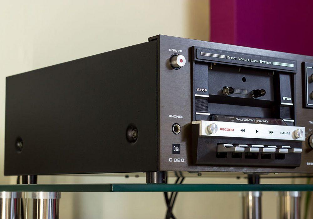 Dual C820 高级卡座