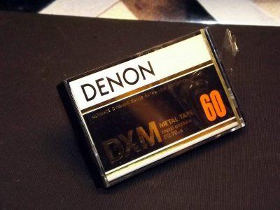 天龙 DENON DXM-60 空白录音磁带