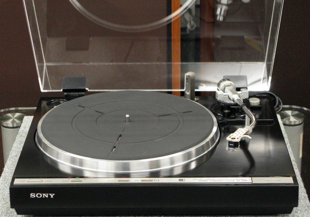 SONY PS-X55 黑胶唱机