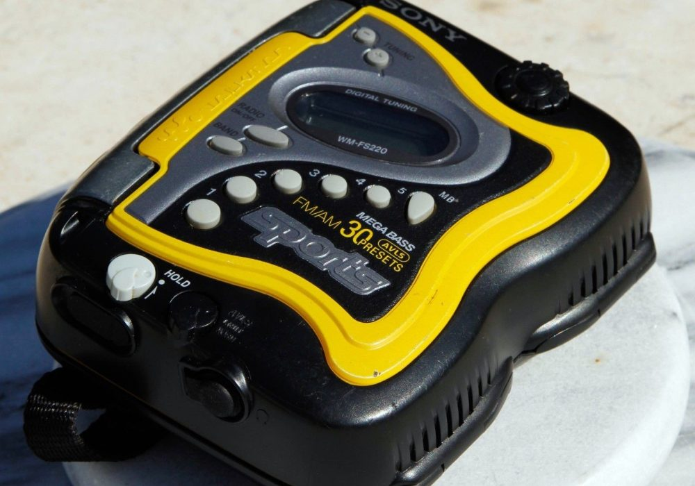 索尼 SONY FS220 运动型磁带随身听