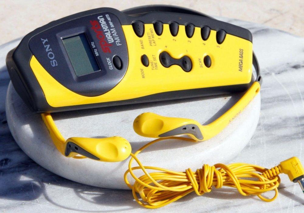 索尼 SONY SRF-M73 FM/AM 运动型 收音随身听 + MDR-W14 耳机