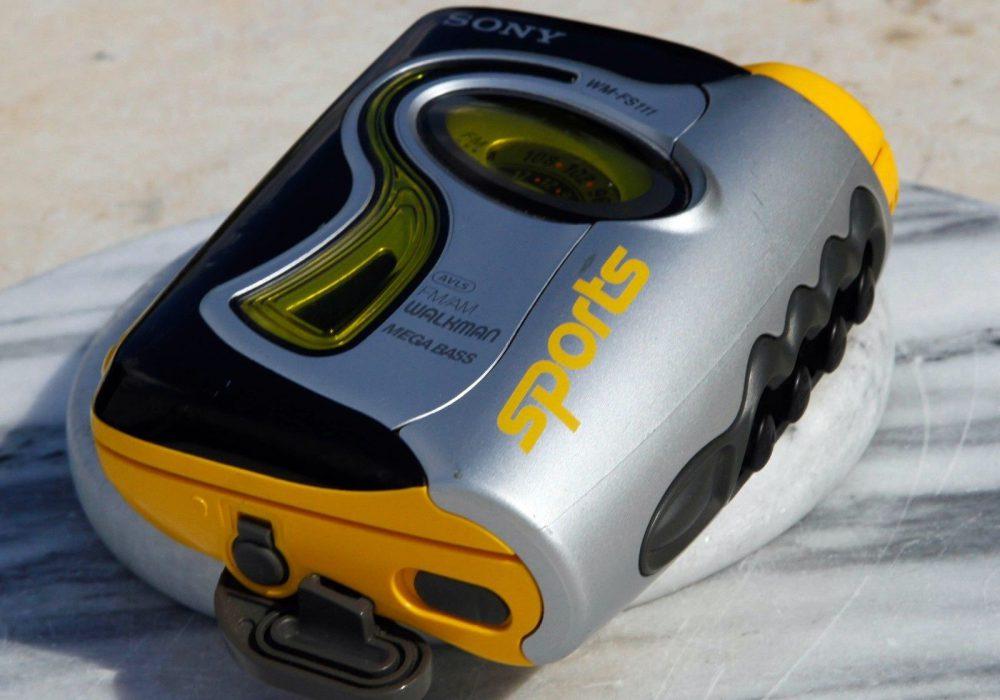 索尼 SONY WM-FS111 运动型 磁带随身听