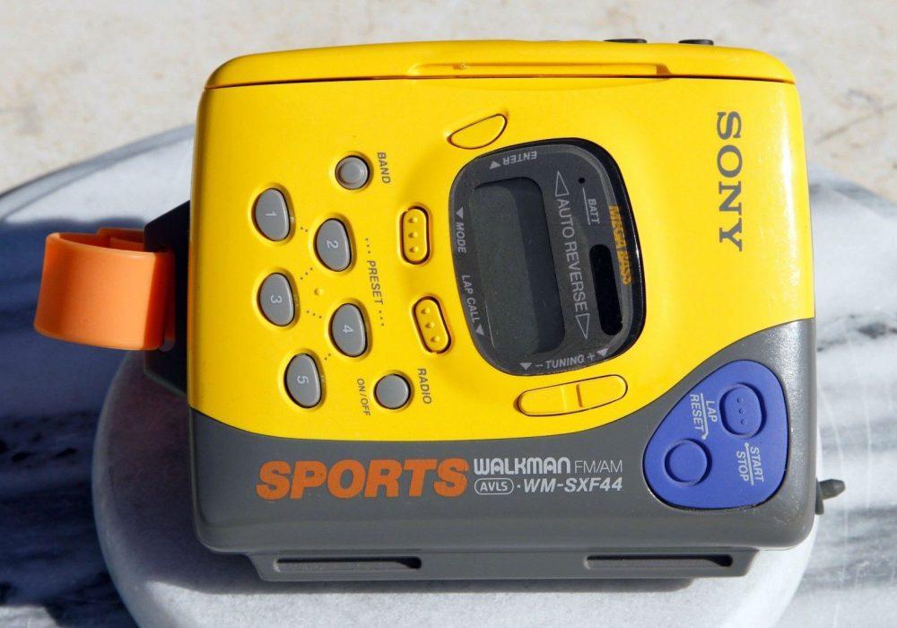 索尼 SONY WM-SXF44 AM/FM 运动型 磁带随身听