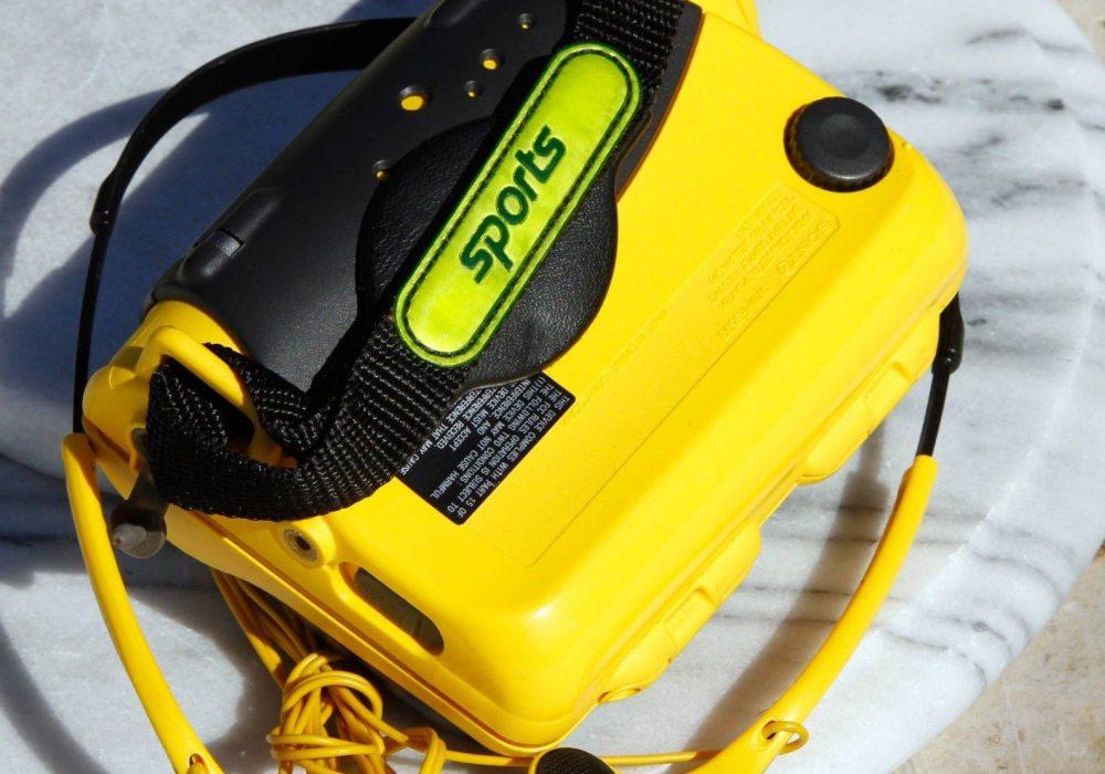索尼 SONY WM-FS593 运动型磁带随身听 & MDR-W014 耳机