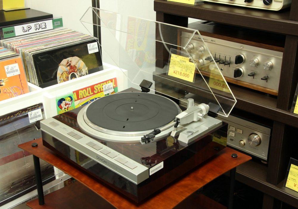 DENON DP-47F 黑胶唱机