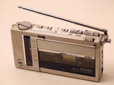 Aiwa CS-J1 vintage walkman