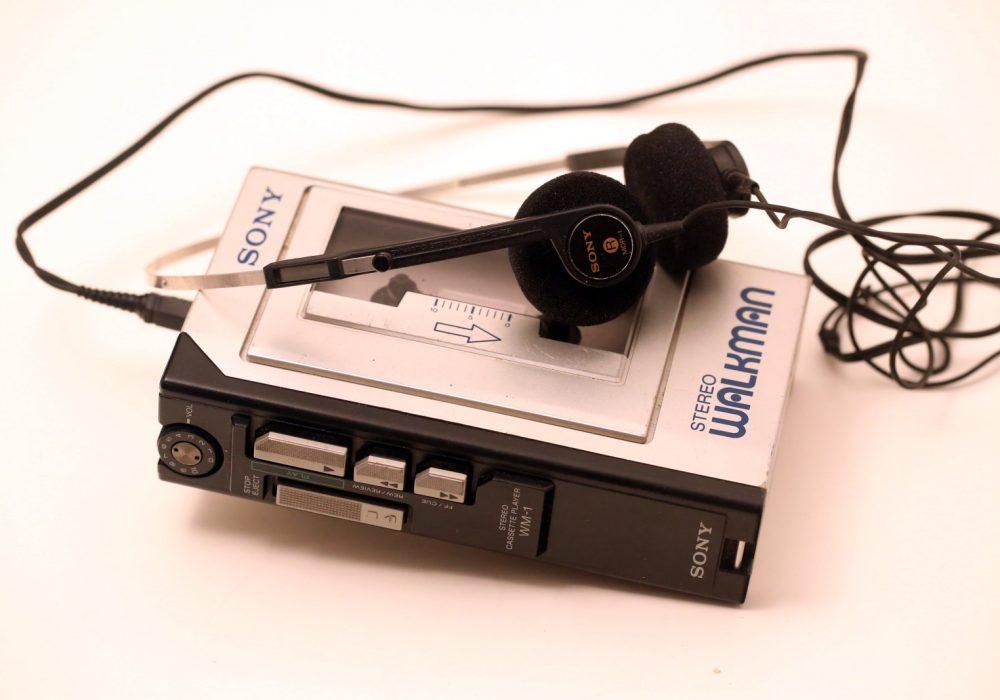 索尼 SONY WM-1 磁带随身听