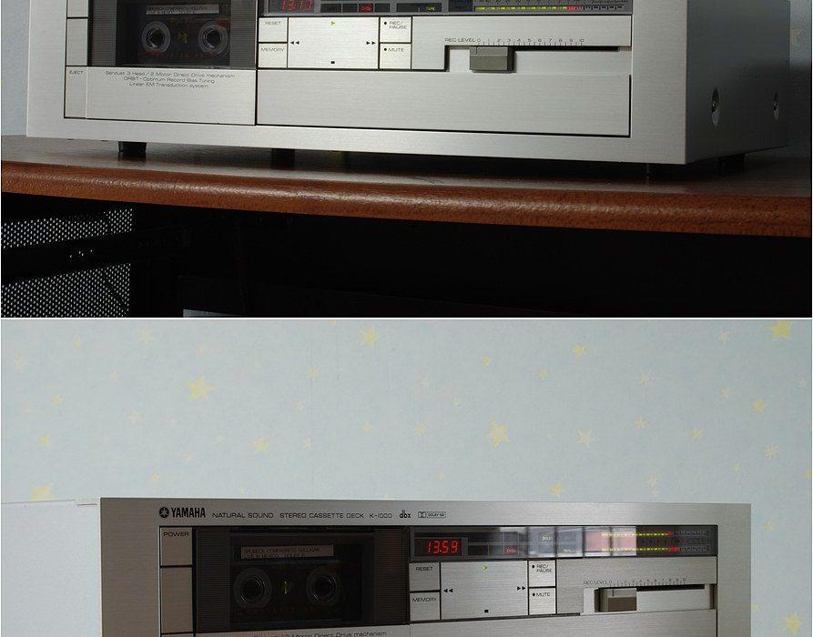 雅马哈 YAMAHA K-1000 三磁头卡座