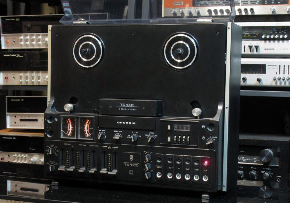 根德 Grundig TS1000 开盘机