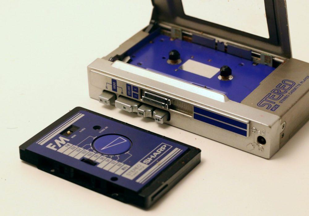 夏普 Sharp WF-50G 磁带随身听