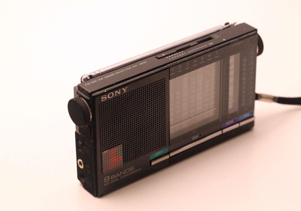 索尼 SONY ICF-4900 9波段 便携式收音机
