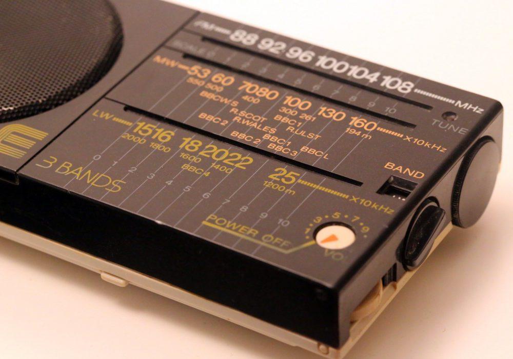 索尼 SONY ICF-22L 3波段 便携式收音机