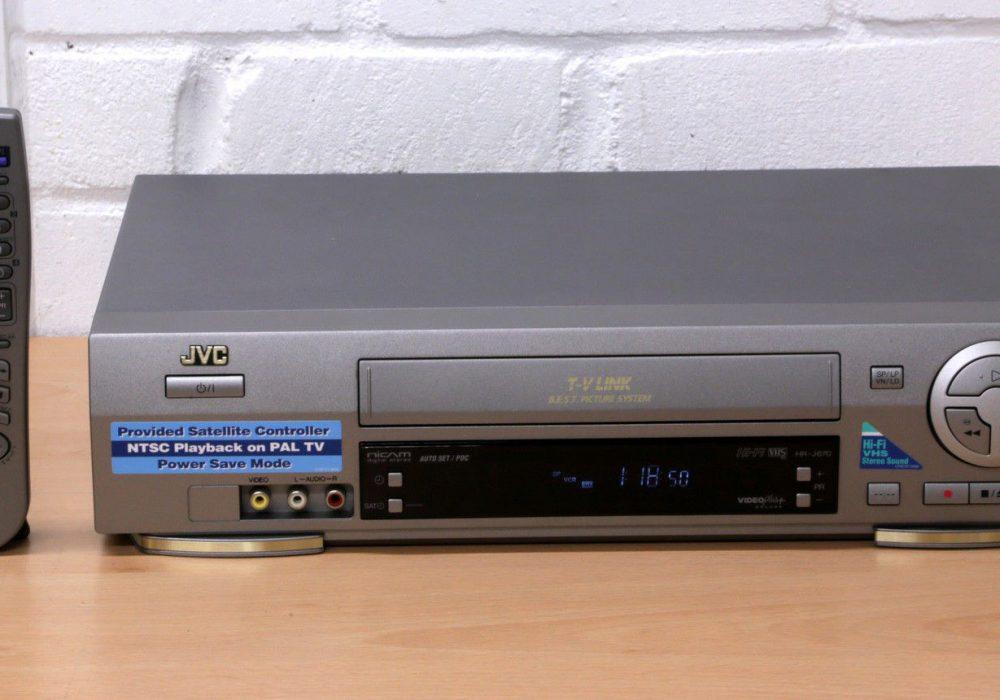 JVC HR-J670 Hi-Fi VHS 录像机