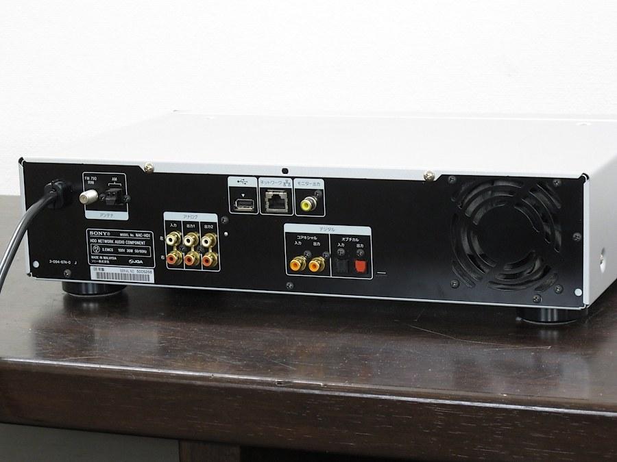 索尼 SONY NAC-HD1 CD/硬盘/网络 播放机