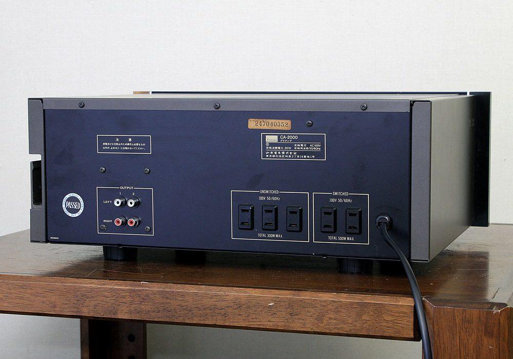 山水 SANSUI CA-2000 前级放大器