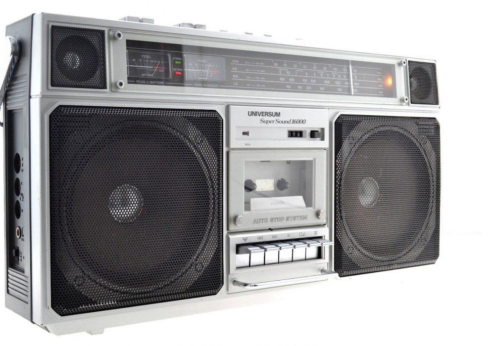 Universum Super Sound 16000 CTR2605 单卡收录机