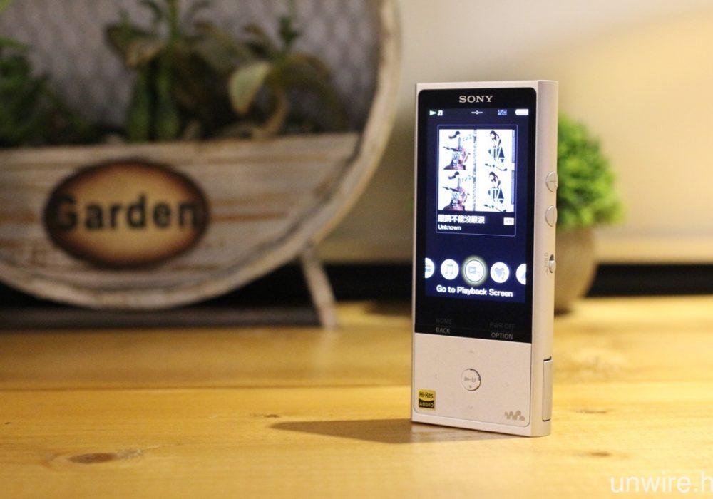 索尼 SONY NW-ZX100 HI-Res 便携式音乐随身听