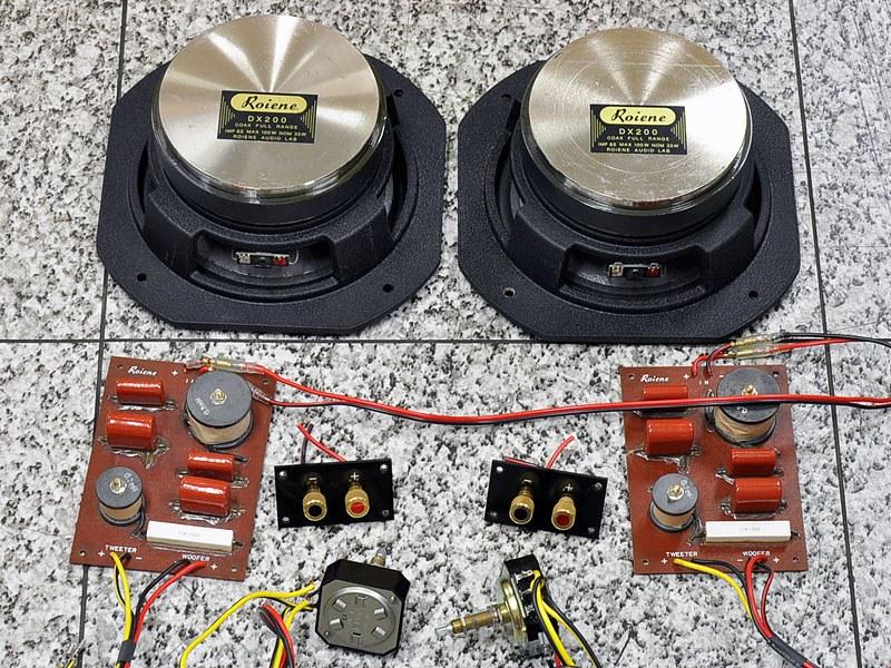 Roiene DX-200 同轴书架音箱