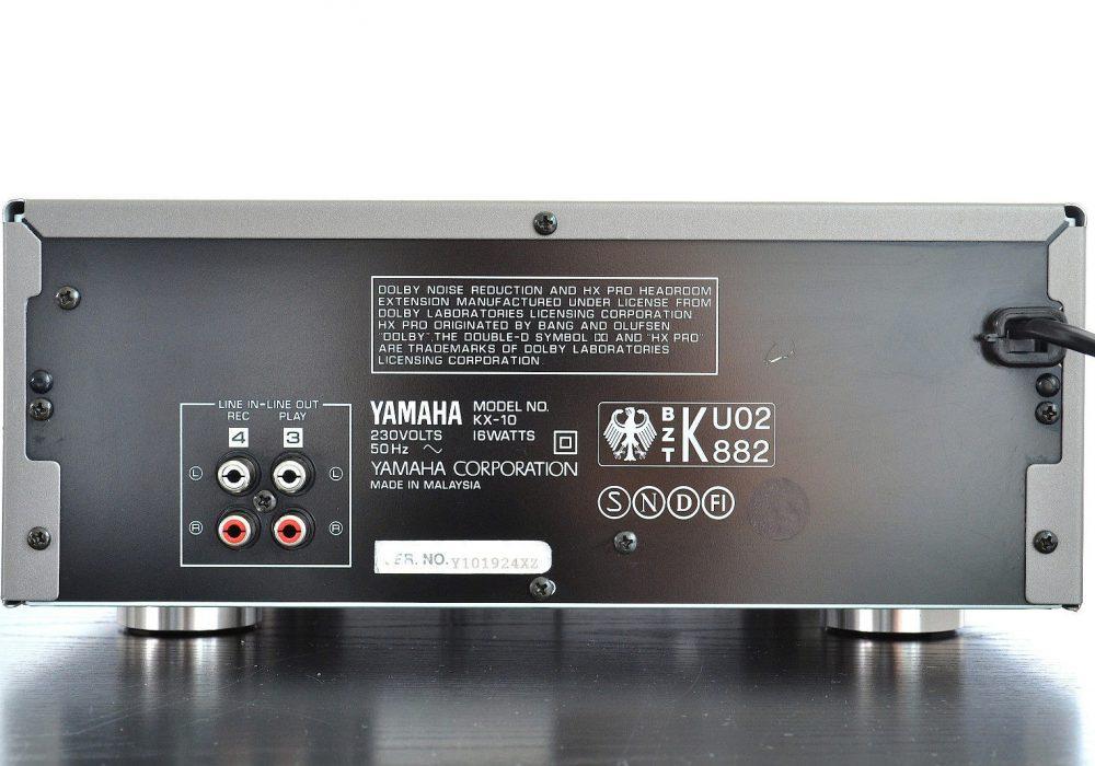 雅马哈 YAMAHA KX-10 立体声卡座