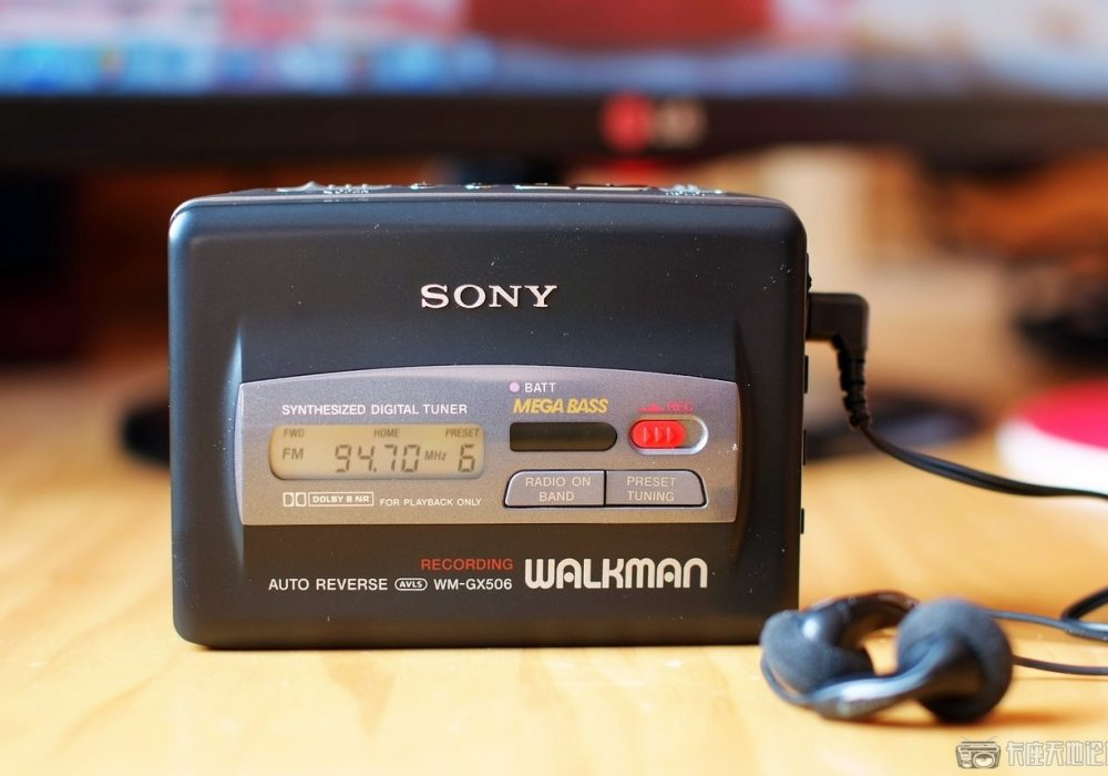 索尼 SONY WM-GX506 磁带随身听
