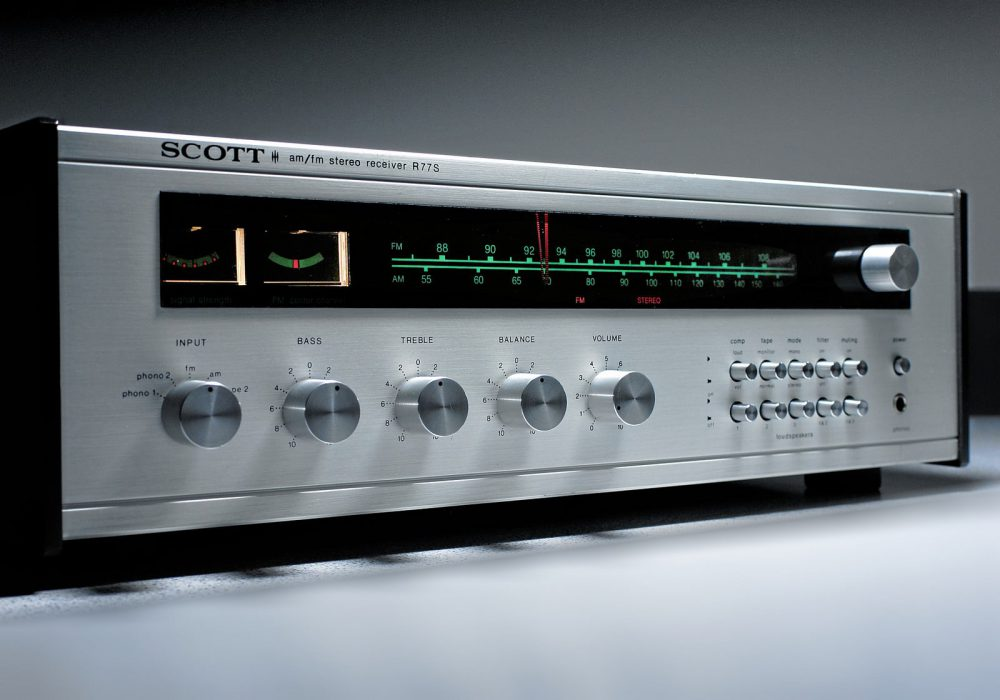 SCOTT R77S Stereo Receiver